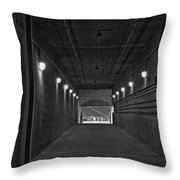 Tunnel Of Heroes 2 Throw Pillow