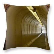 Tunnel To The Berkeley Pit Throw Pillow