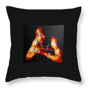 Tupac Pray For A Brighter Day Throw Pillow