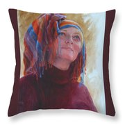 Turban 1 Throw Pillow