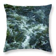 Turbulance At Loch Ness Throw Pillow