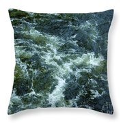 Turbulance At Loch Ness Throw Pillow