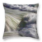 Turbulence Throw Pillow