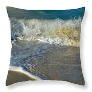 Turk Surf Throw Pillow