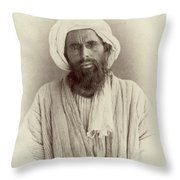 Turkestan Dzhugi, C1865 Throw Pillow