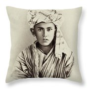 Turkestan Mazang, C1865 Throw Pillow