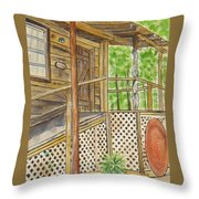 Turkey Track Musicians Entrance 2014 Throw Pillow