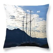 Turkish Dawn Throw Pillow