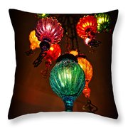 Turkish Lights Throw Pillow