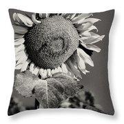 Turkish Sunflower 3 Throw Pillow