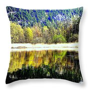 When Nature Is Turned Upside Down  Throw Pillow