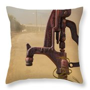 Turn On The Water Please Throw Pillow