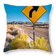 Turn There #2 Throw Pillow