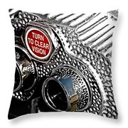 Turn To Clear Throw Pillow