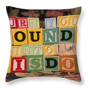 Turn Your Wounds Into Wisdom  Throw Pillow