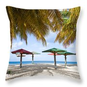 Turner's Beach Throw Pillow