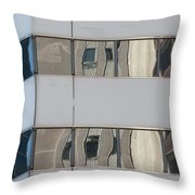 Turning A Corner Throw Pillow