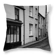 Turning Back Throw Pillow by Doug Wilton