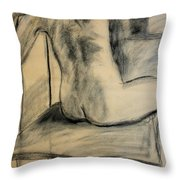Turning Beauty Throw Pillow