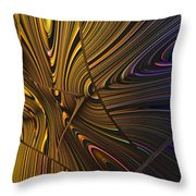 Turning Cold Throw Pillow
