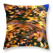 Turning Leaves Throw Pillow