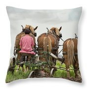 Turning The Earth Throw Pillow