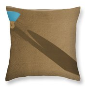 Turquoise Throw Pillow
