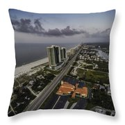 Turquoise Place At Dawn Throw Pillow