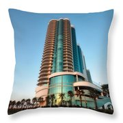 Turquoise Place Rising Throw Pillow