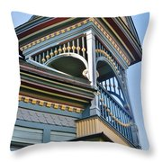Turret Details Throw Pillow