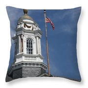 Turret Main Post Office Annapolis Throw Pillow