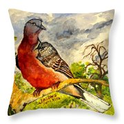 Turtle - Dove Throw Pillow
