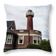 Turtle Rock Light House In Philly Throw Pillow