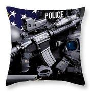 Tuscaloosa Police Throw Pillow by Gary Yost