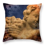 Tuscan Angel Throw Pillow