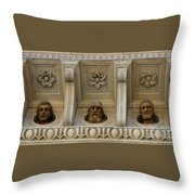 Tuscan Architectural Details Throw Pillow