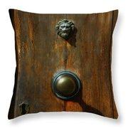 Tuscan Doorknob Throw Pillow