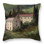 Tuscan Landscape II Throw Pillow