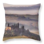 Tuscan Morning Throw Pillow