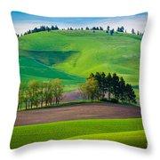 Tuscan Palouse Throw Pillow