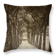 Tuscan Pines Throw Pillow