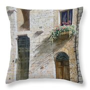 Tuscan Rhythms Throw Pillow