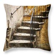 Tuscan Staircase Throw Pillow