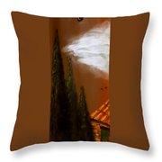Tuscan Terra Cotta Throw Pillow