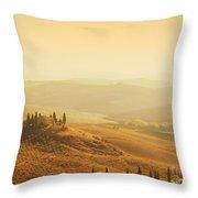 Tuscan Villa Sunrise Throw Pillow