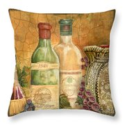 Tuscan Wine-a Throw Pillow