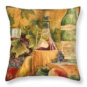 Tuscan Wine-c Throw Pillow