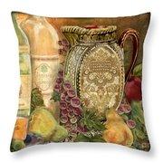 Tuscan Wine-d Throw Pillow