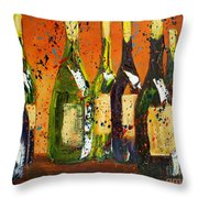 Tuscan Wine Throw Pillow