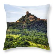 Tuscany - Castiglione D'orcia Throw Pillow